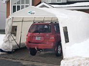 Carports and utility shelters
